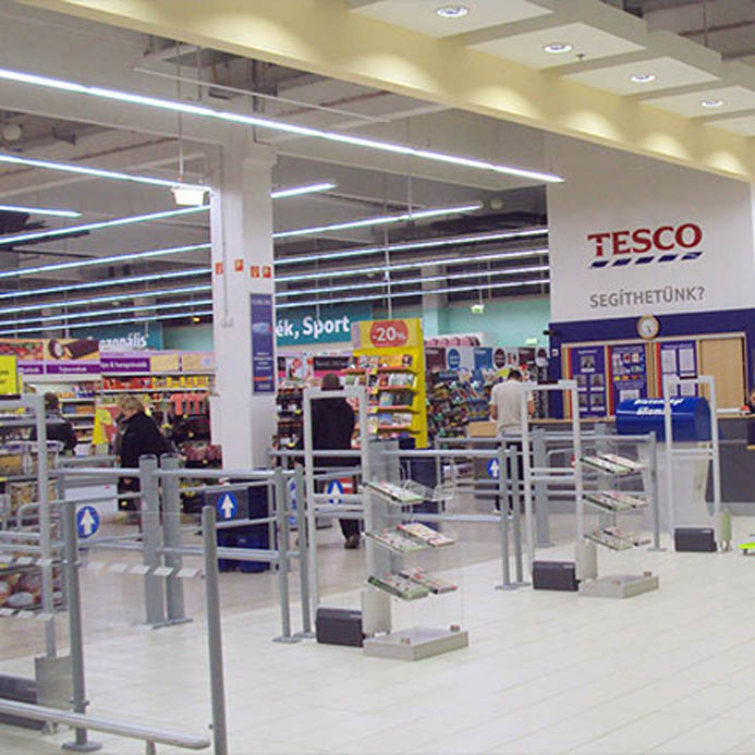 TESCO HYPERMARKETS and SHOPPING MALLS